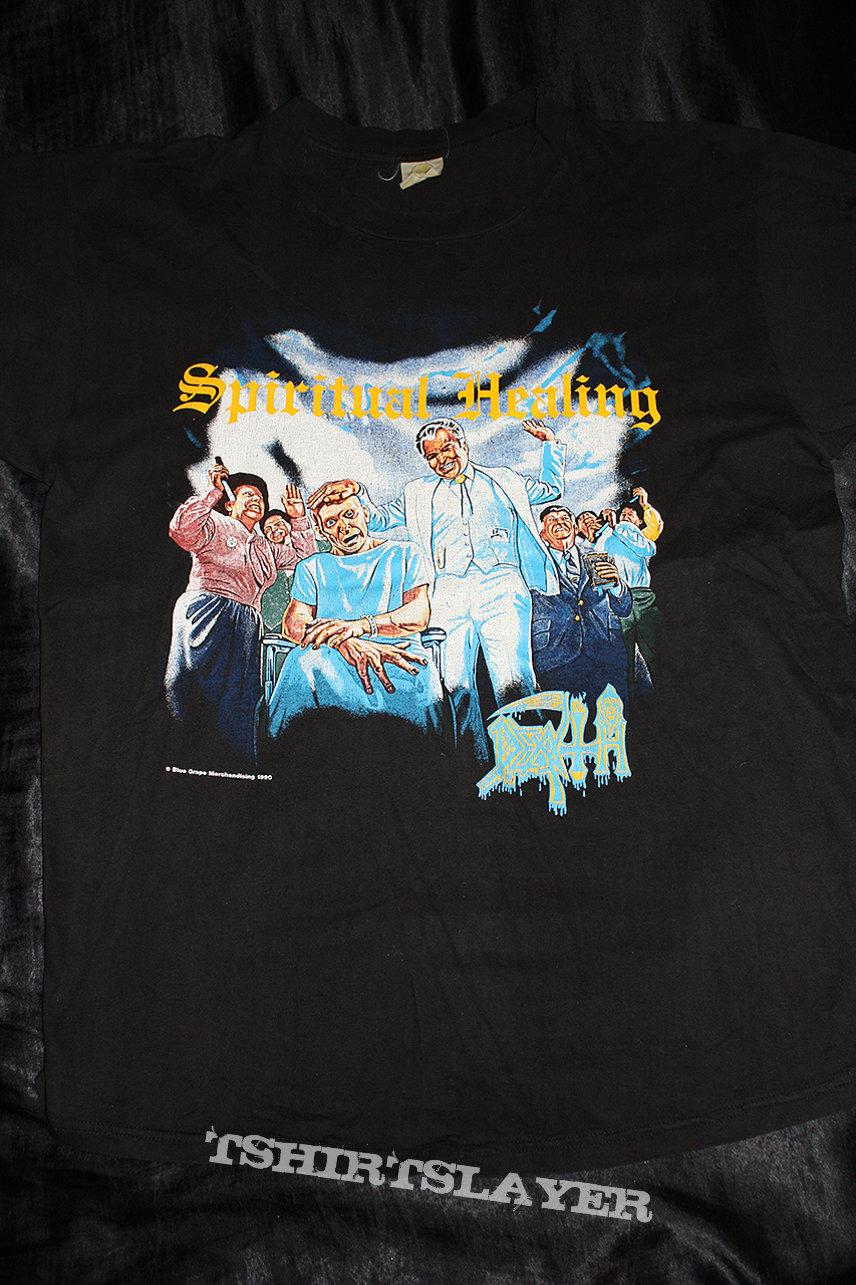 DEATH - Spiritual Healing - Official T-Shirt from 1990 in Size XL