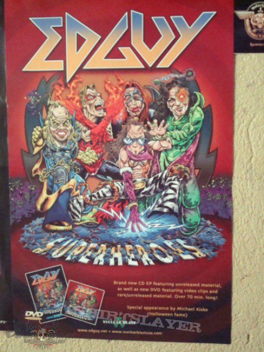 Other Collectable - Edguy Poster