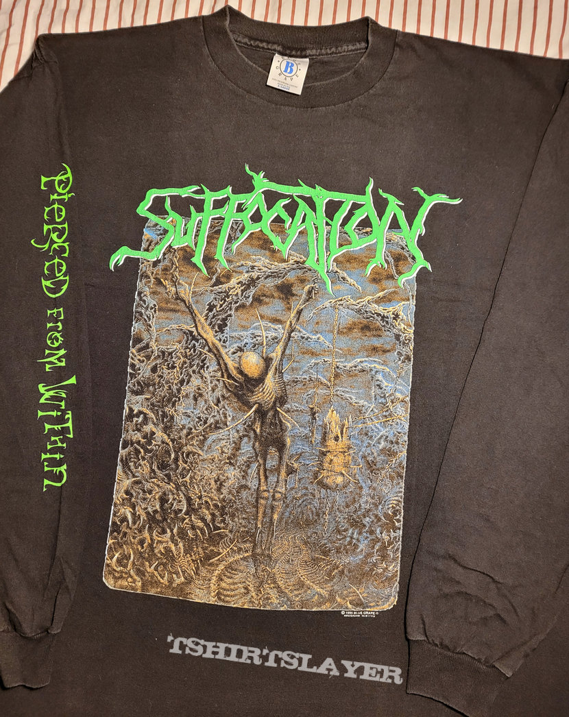 Suffocation Pierced From Within 1995 tour longsleeve