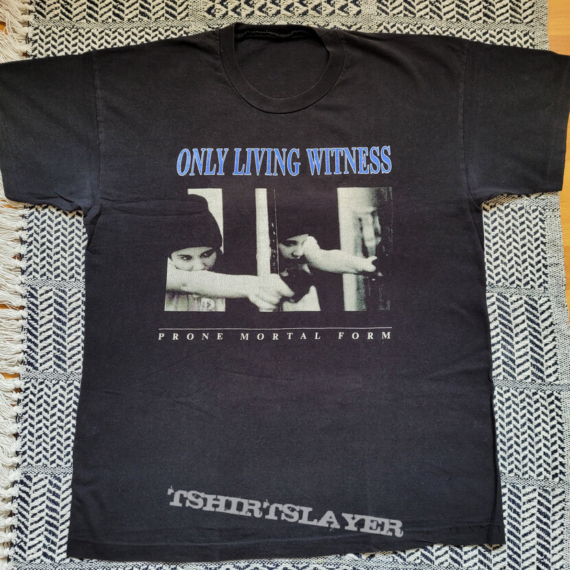 Only Living Witness 1993 tour shirt