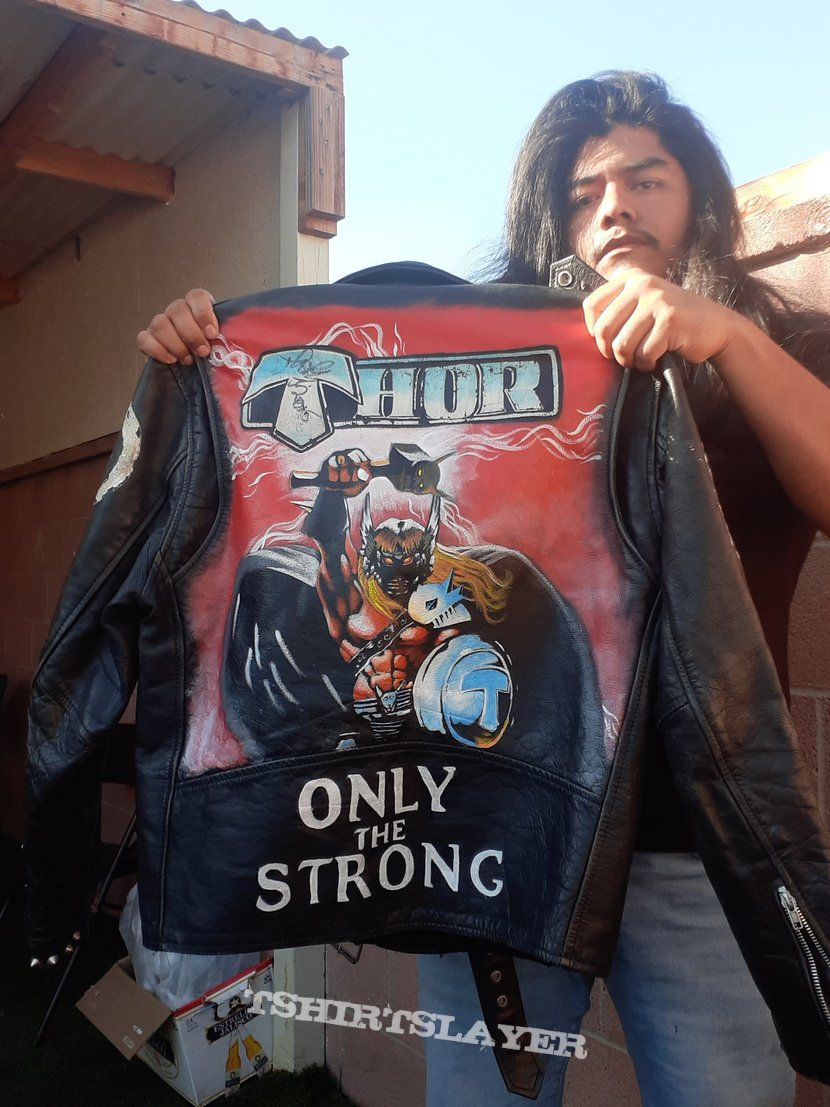 Thor leather jacket (repainted)
