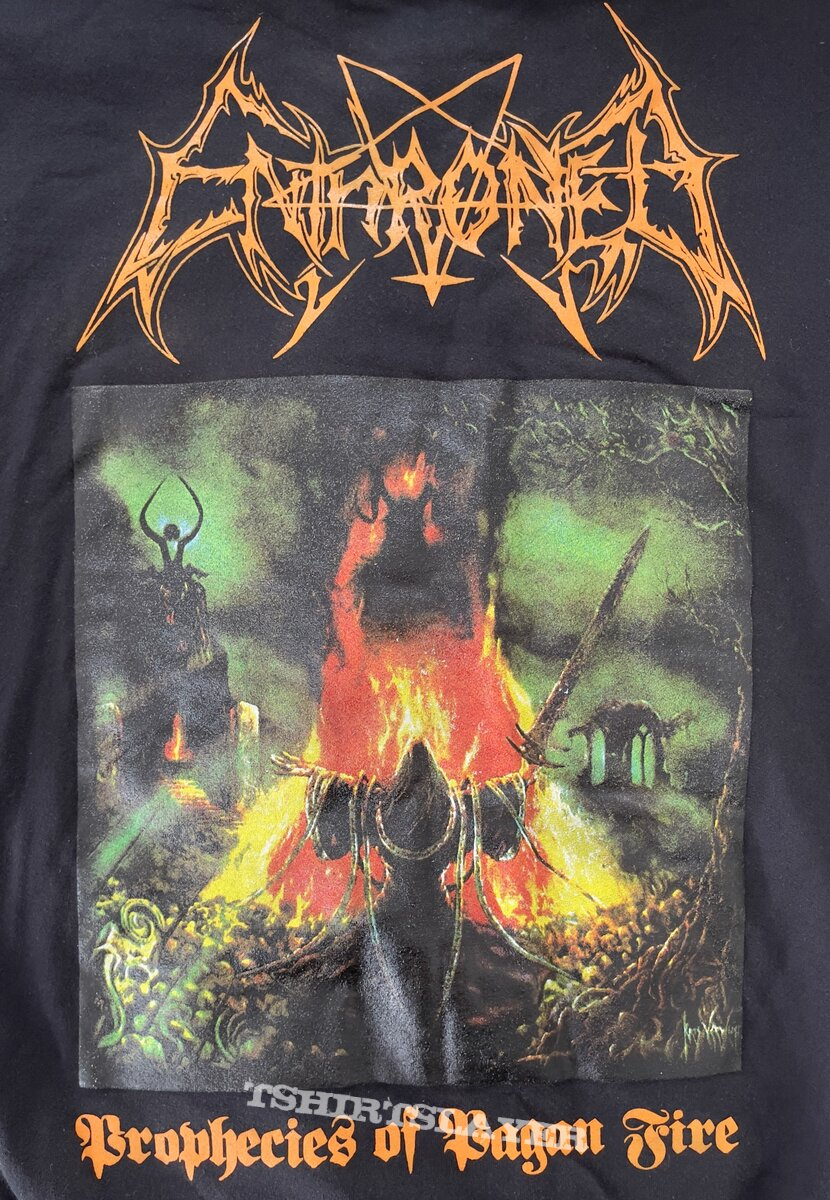 Enthroned-Prophecies of Pagan Fire Limited Edition Hoodie