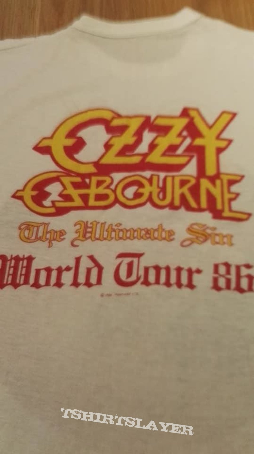 Ozzy Ultimate Sin Tour 86