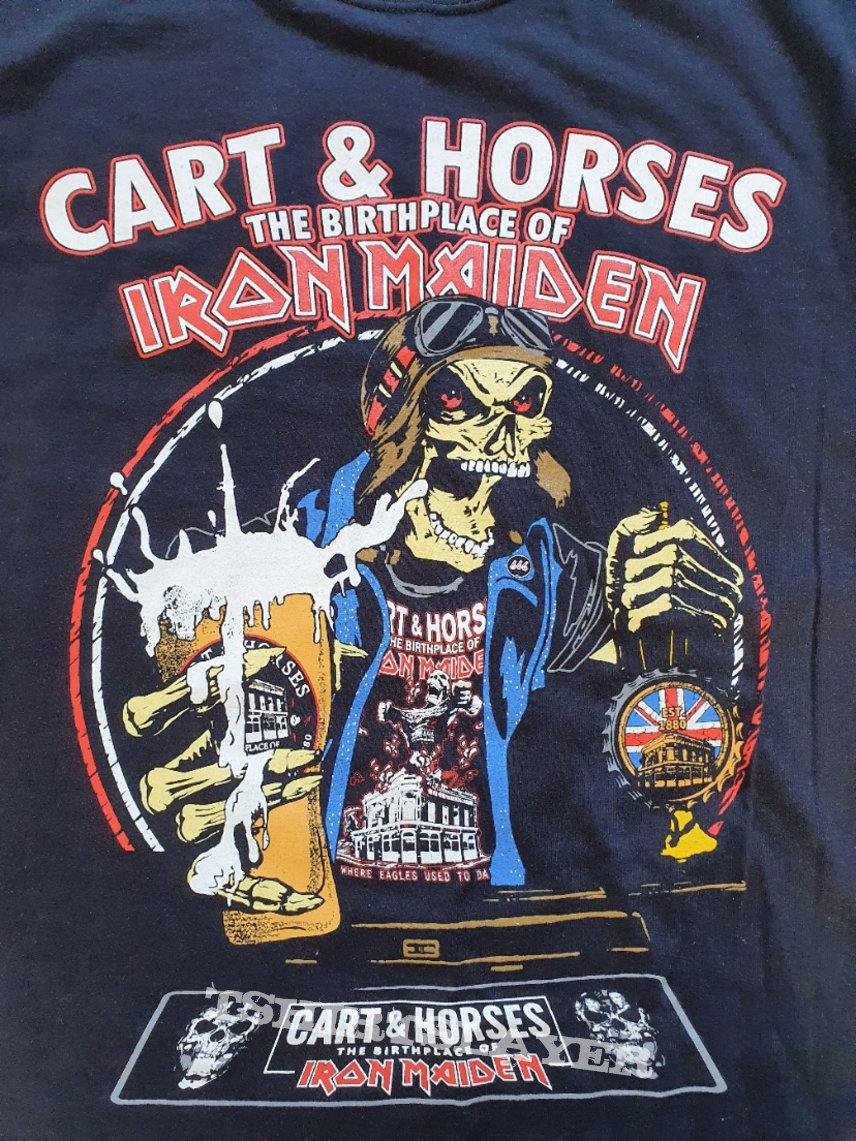 Cart & Horses Birthplace Of Maiden