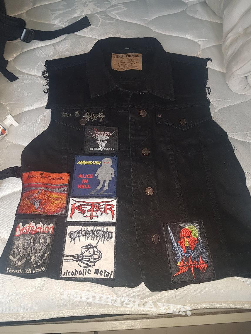 Battle jacket thrash/death