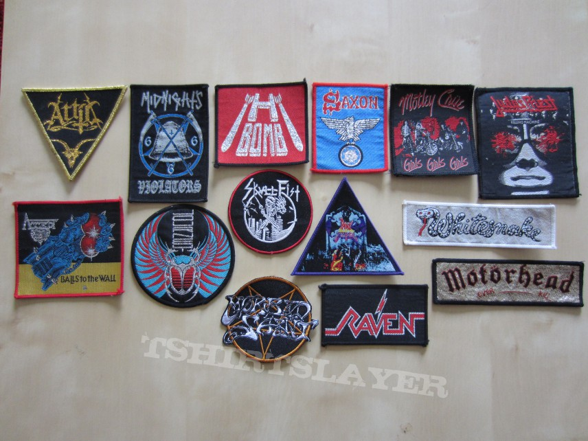 New patches for my battlejacket!