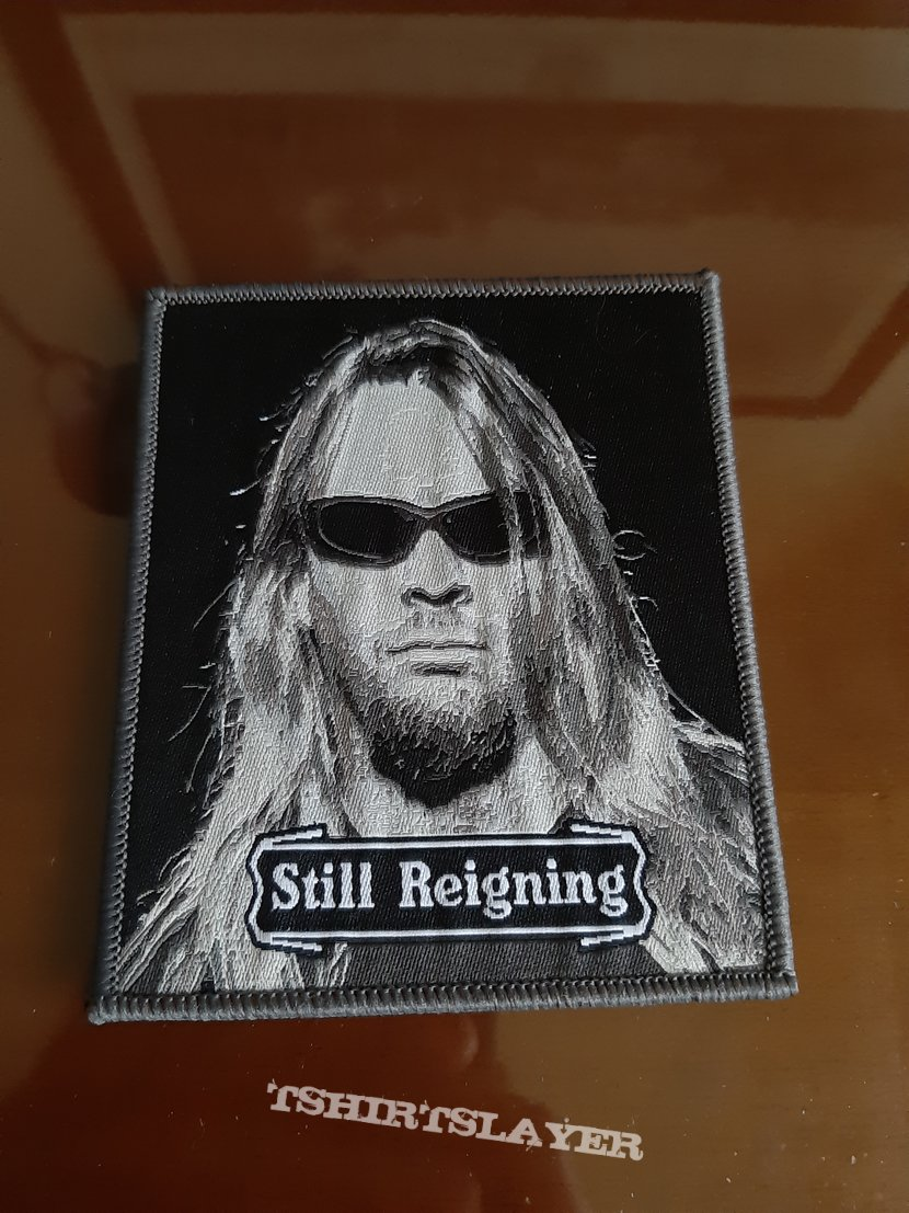 Jeff Hanneman Tribute Patch