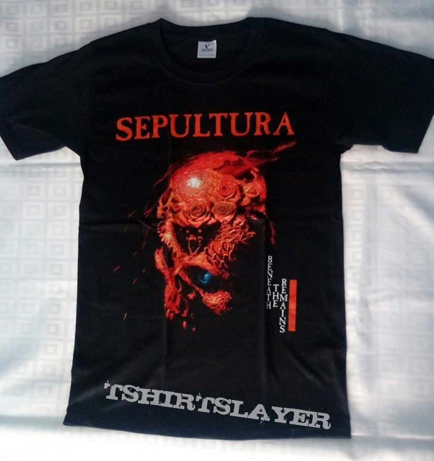 Sepultura Beneath The Remains t shirt