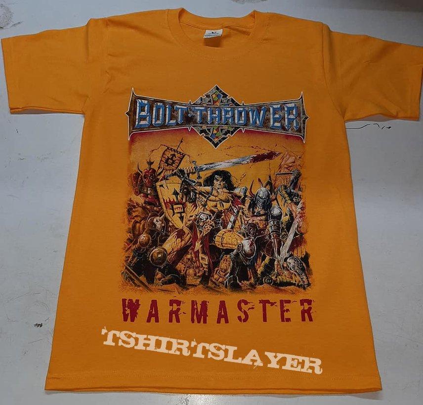 Bolt Thrower Warmaster t shirt