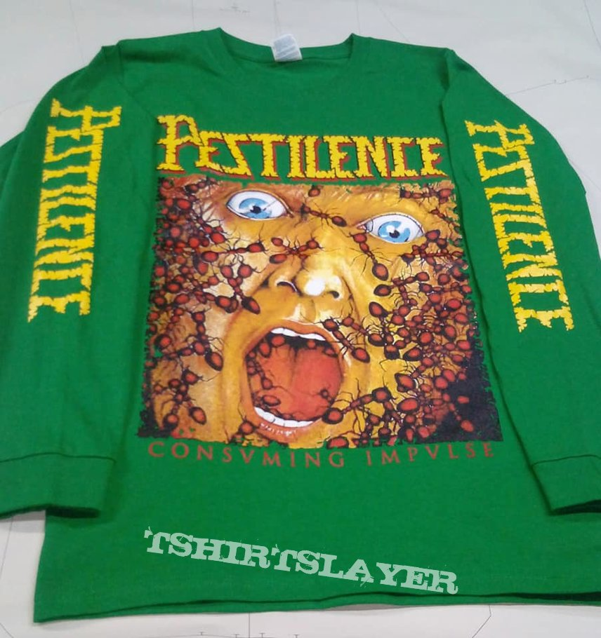 Pestilence Consuming Impulse long sleeve t shirt
