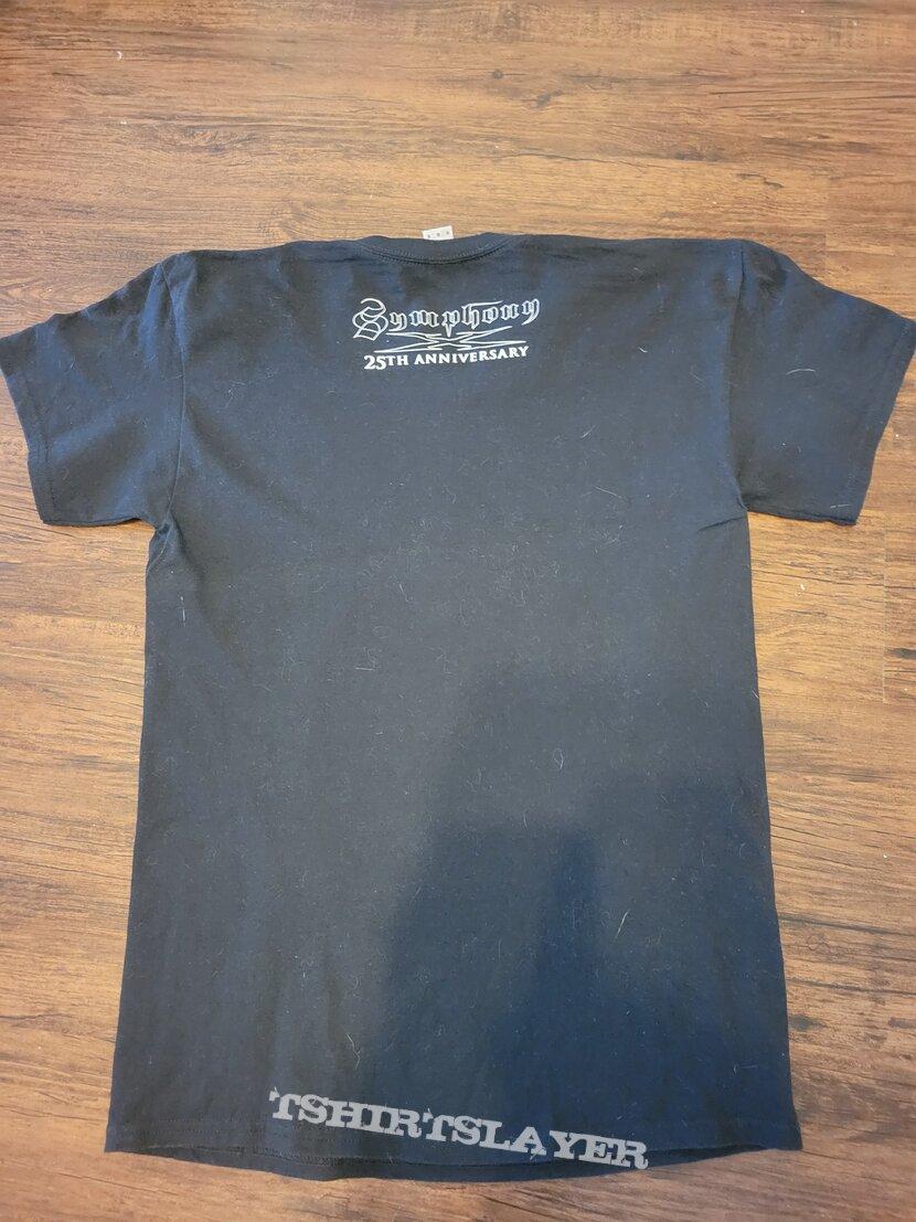 Symphony X V shirt 25th anniversary