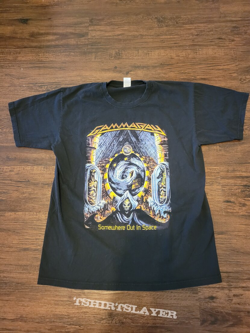 Gamma Ray Somewhere Out In Space Shirt