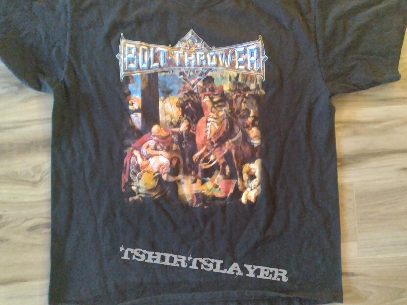 Bolt Thrower 4th Crusade Shirt