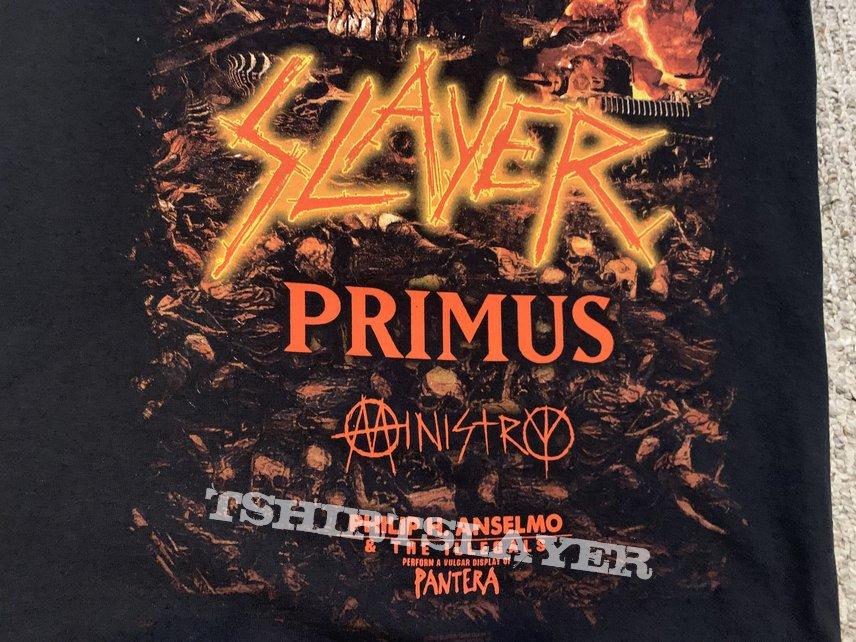 Slayer last campaign tour shirt