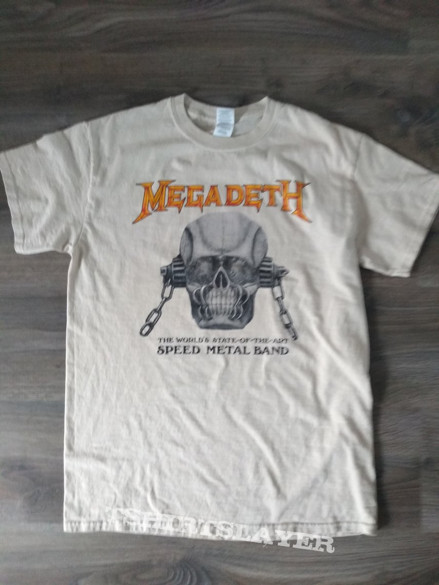 Megadeth State Of The Art Tee