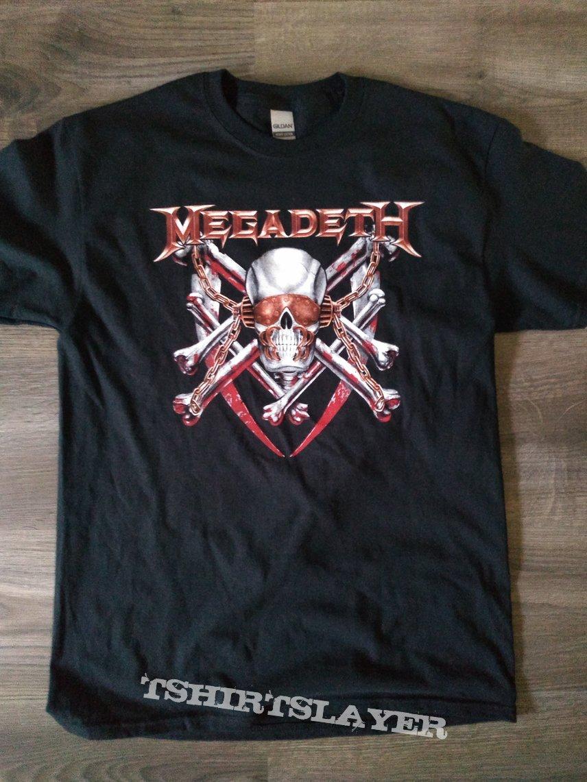 Megadeth Killing is My Business tracklist tee