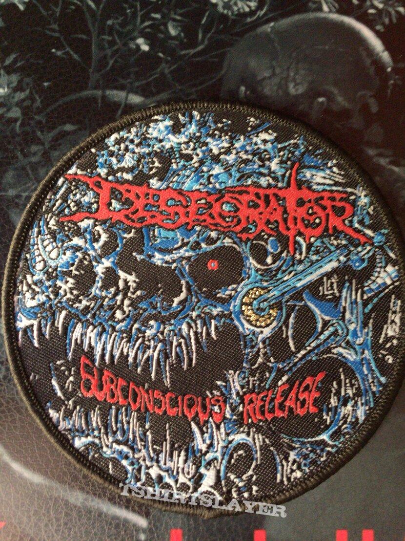 "Desecrator ""Subconscious Release""."