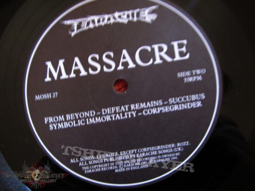 Other Collectable - FOR SALE!!! Massacre From Beyond LP Earache Records 1991.