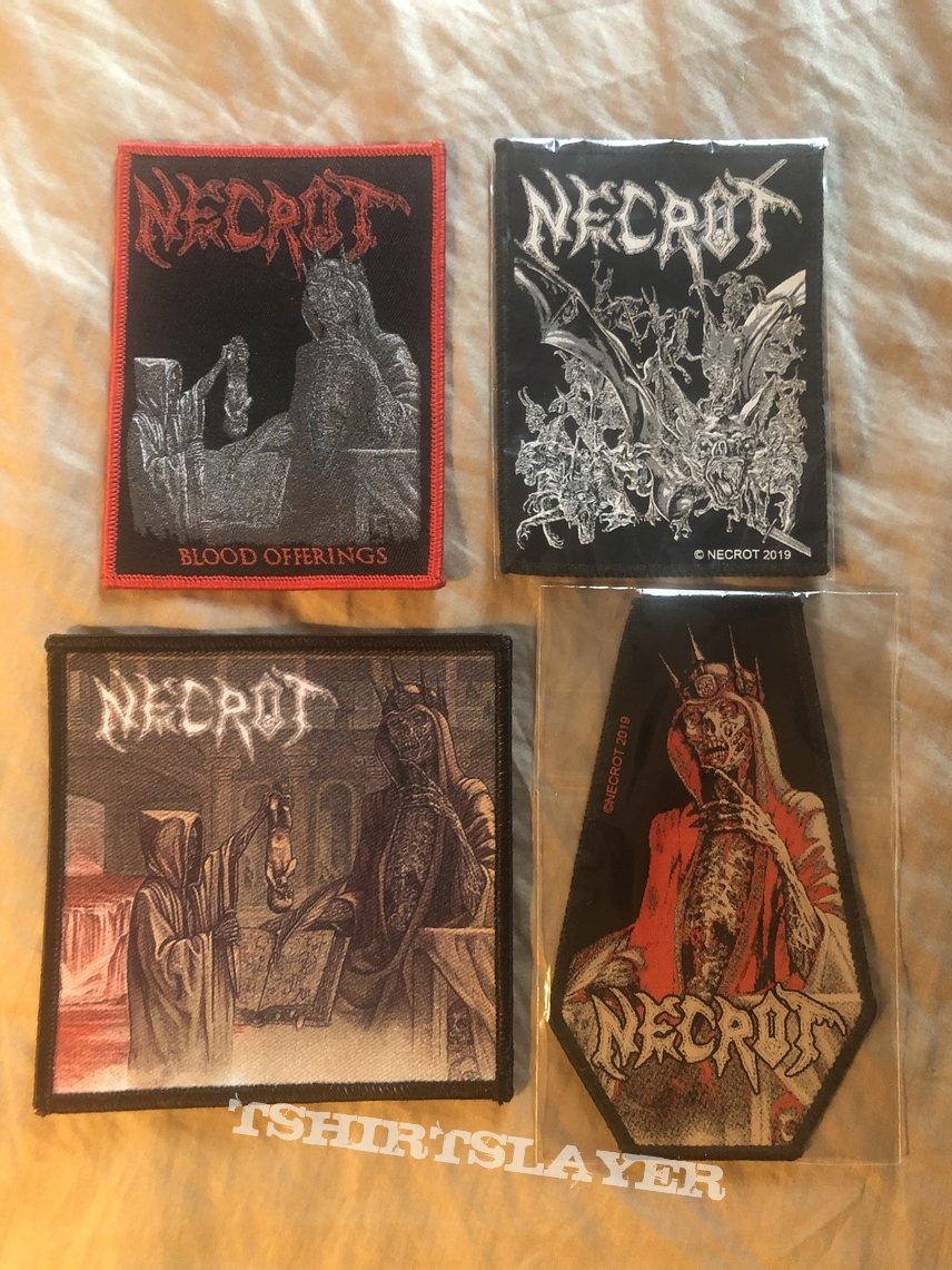 Necrot patch collection