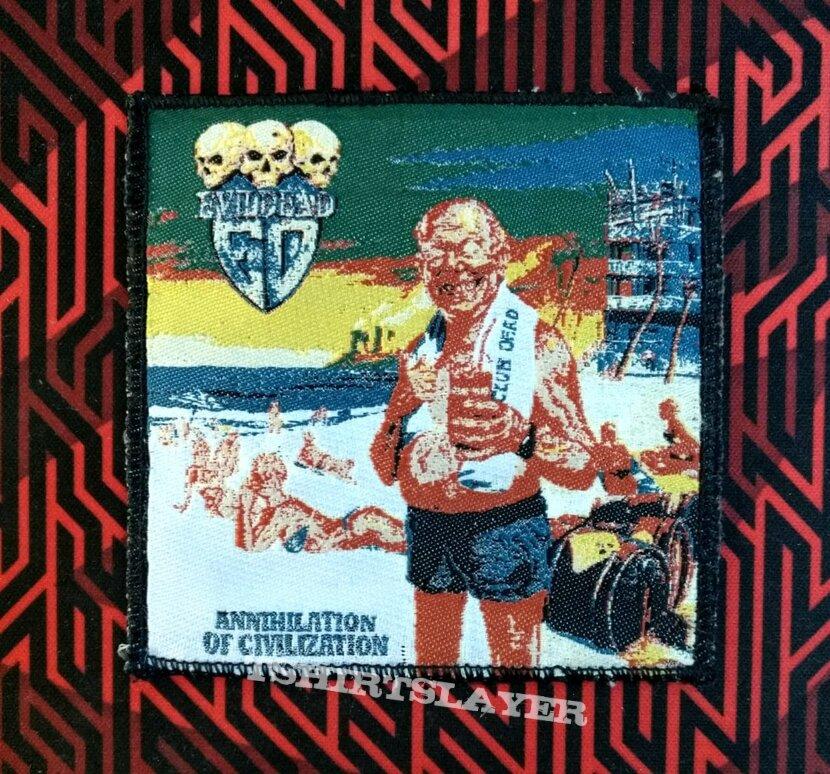 Evildead-Annihilation of civilization (Greek bootleg patch)