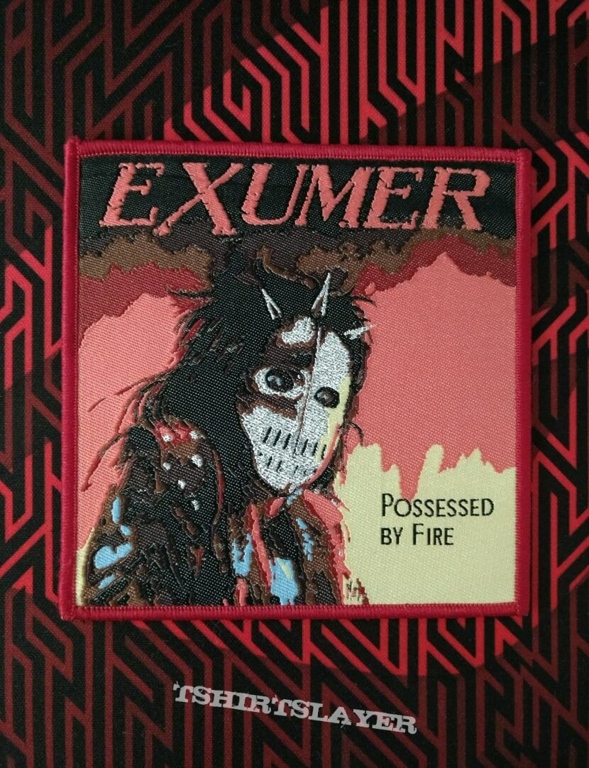 Exumer-Possessed by fire (woven patch)