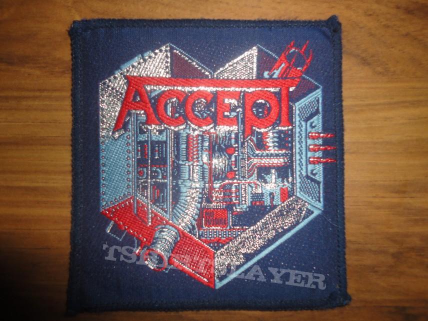 Accept- Metal Heart vintage patch