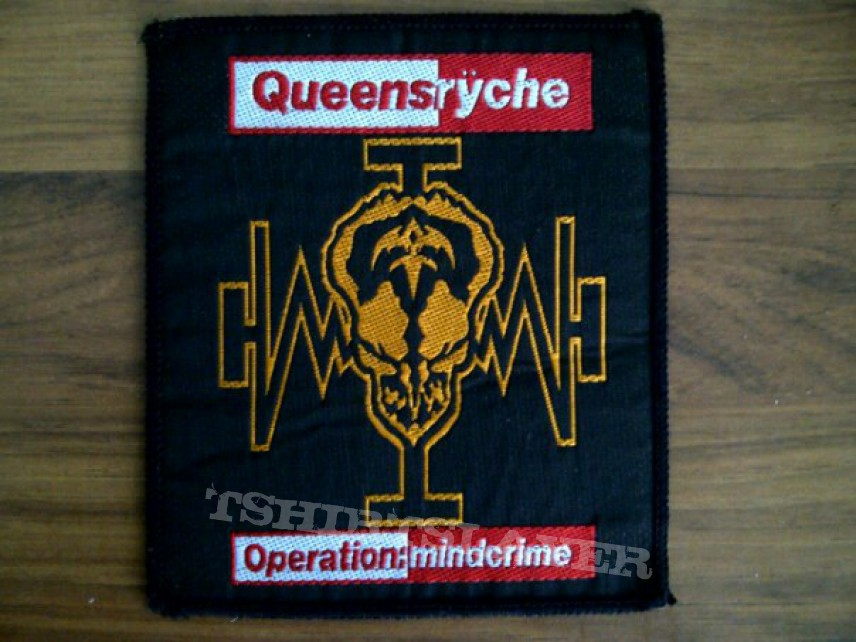 Queensryche Operation Mindcrime 2 Patch - Queensryche- Operation