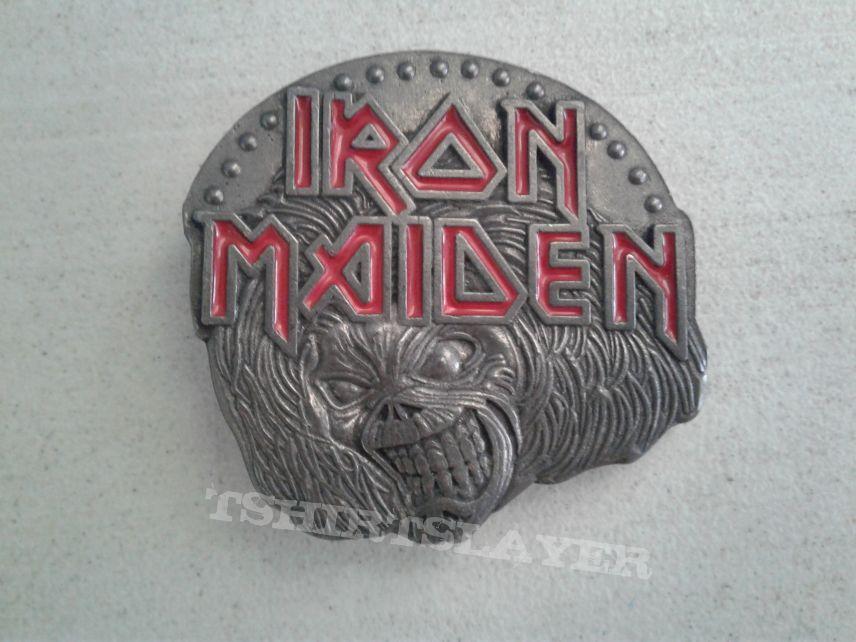 Iron Maiden Killers belt buckle