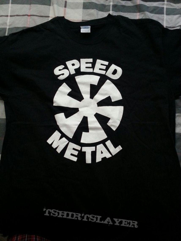 TShirt or Longsleeve - Banzai Records Speed Metal Logo