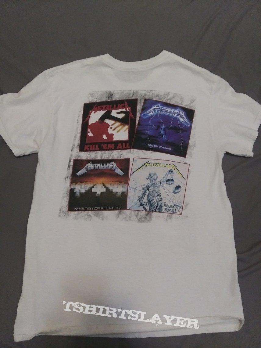 """Metallica """"faces"""" 88-89 tour reprint"""
