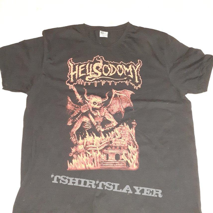 Hellsodomy - Masochistic Molestation (Demo) T-shirt
