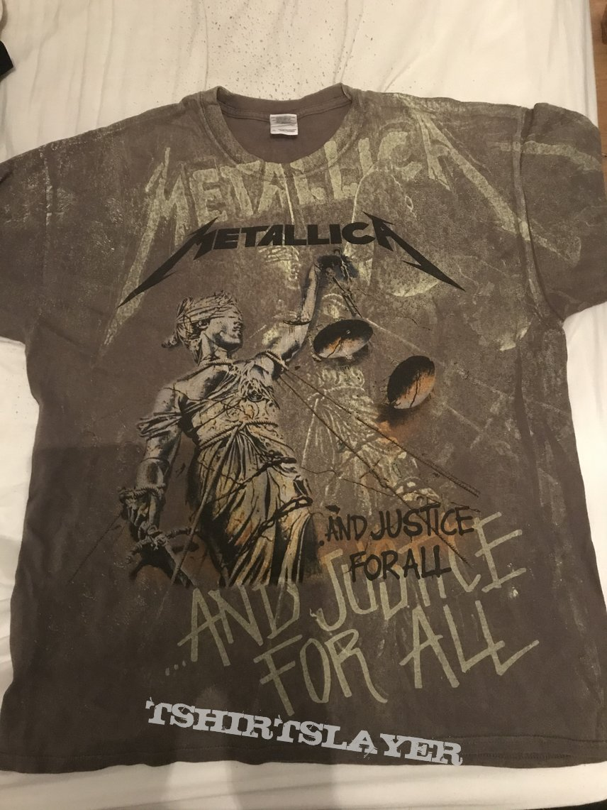 Metallica - Justice all over print