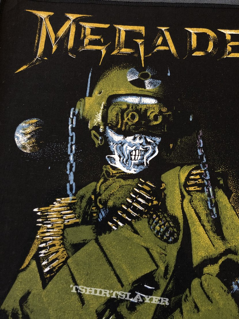 Megadeth - So Far, So Good... So What! back patch