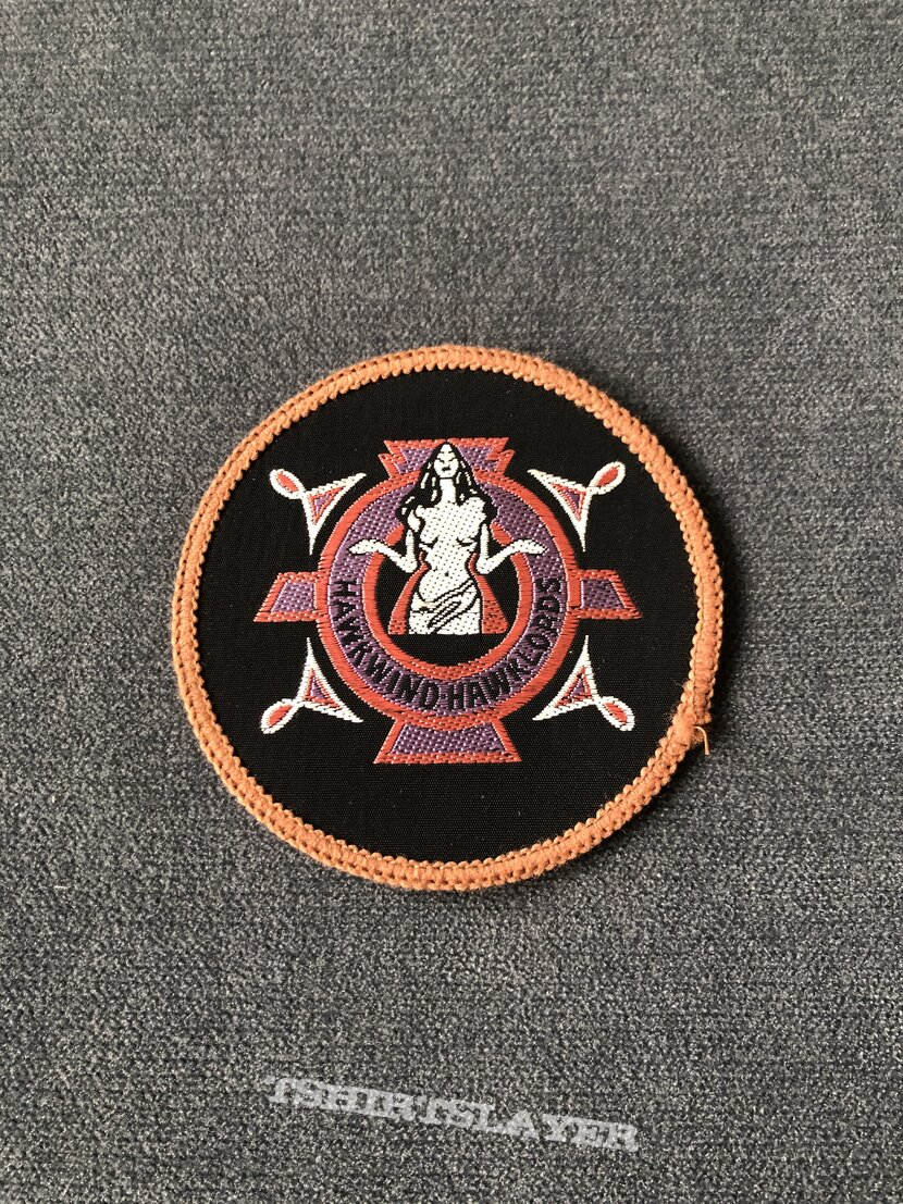 Hawkwind Hawklords circle patch