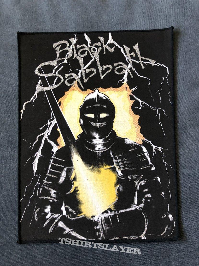 Black Sabbath - Neon Knights back patch