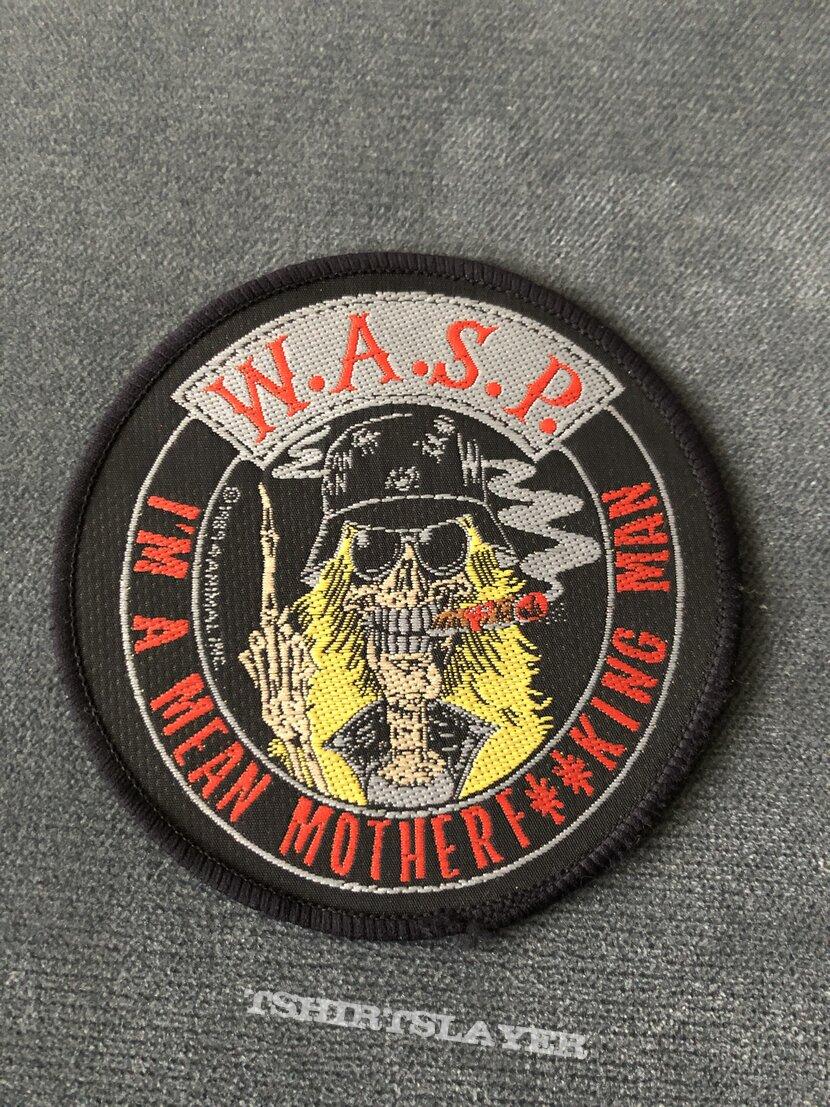 W.A.S.P. Mean Man patch
