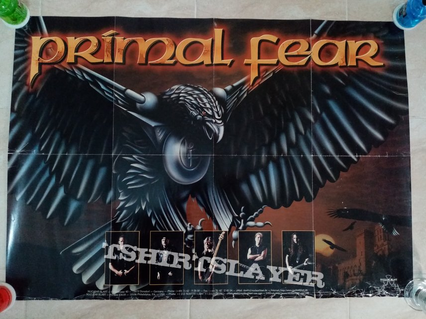 Primal Fear Jaws Of Death - 1999 Official Album Promotional Poster