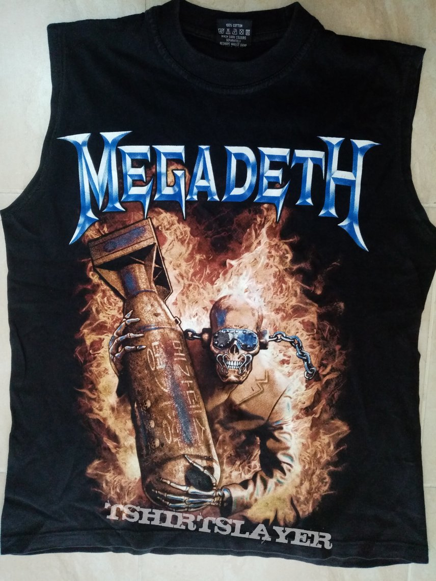 Megadeth The Arsenal - Unofficial T-Shirt