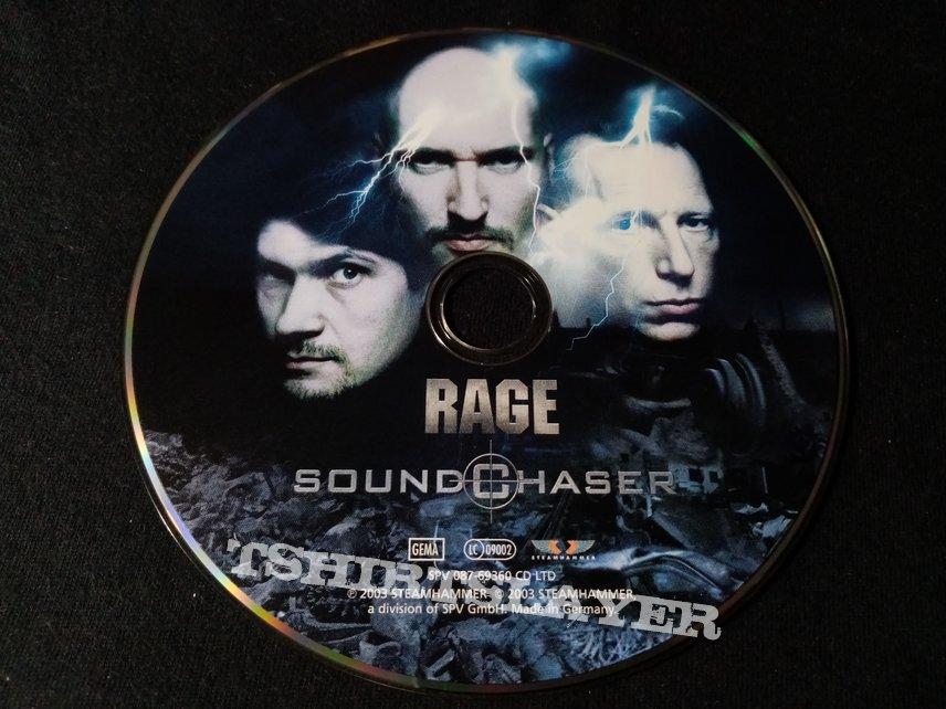 Rage Soundchaser - 2003 Full-Length LIMITED DIGIPAK