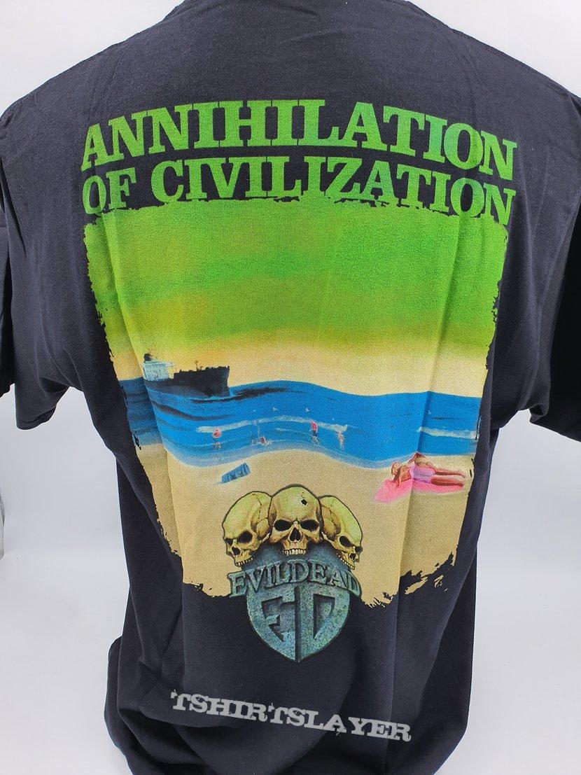EVILDEAD - Annihilation Of Civilization