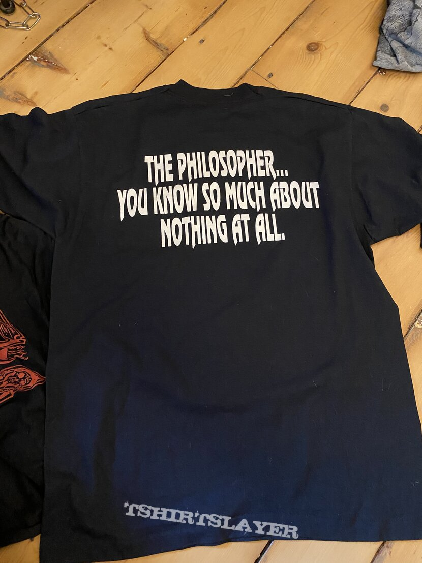 DEATH 1993 The philosopher