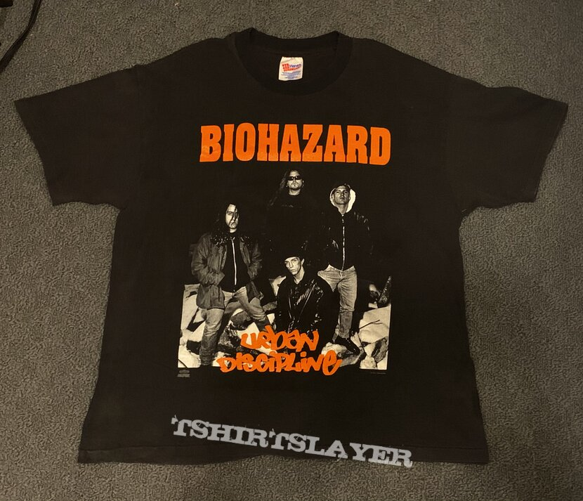 "Biohazard ""Urban Discipline"" Shirt"