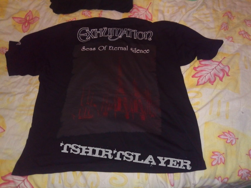 Exhumation 1998 t-shirt