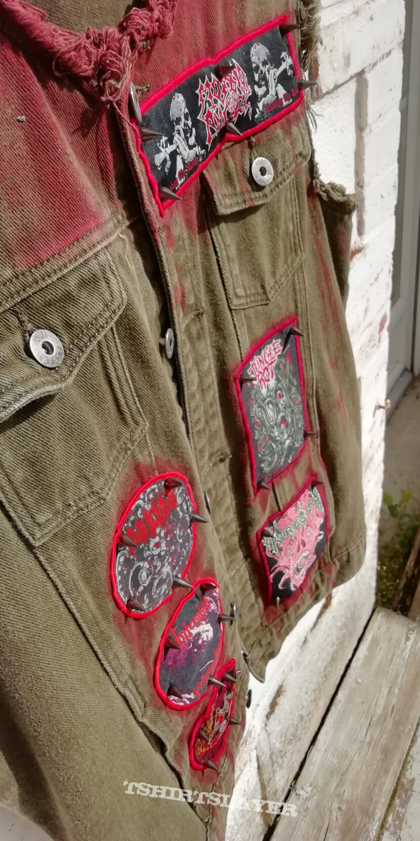 The Bloody Death Battle Jacket