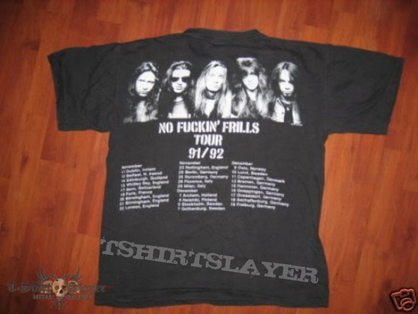 fb55b0f28 Skid Row - No Fuckin Frills 1991-2 | TShirtSlayer TShirt and ...