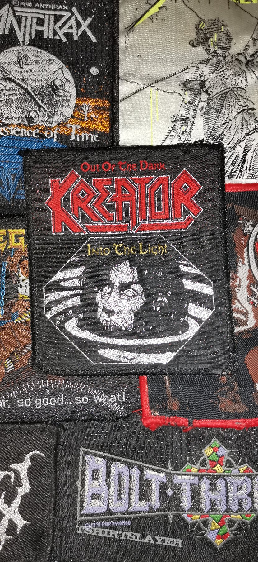 Kreator Out of the dark into the light patch