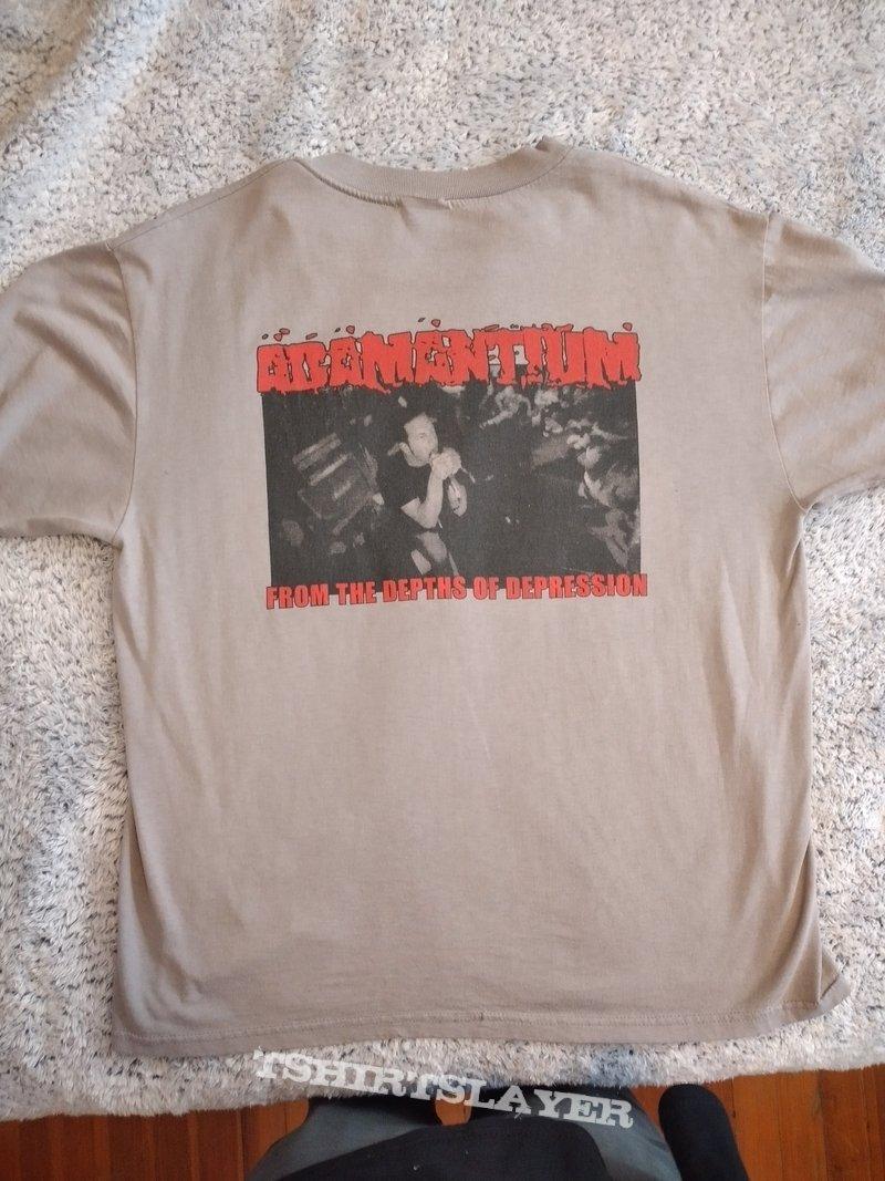 Adamantium winter tour '99 shirt