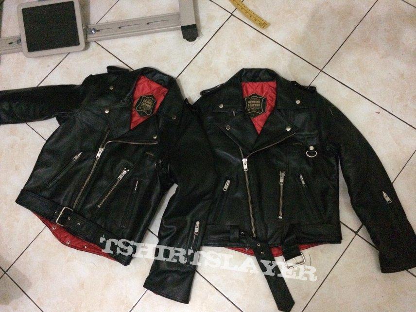 petroff style leather jacket