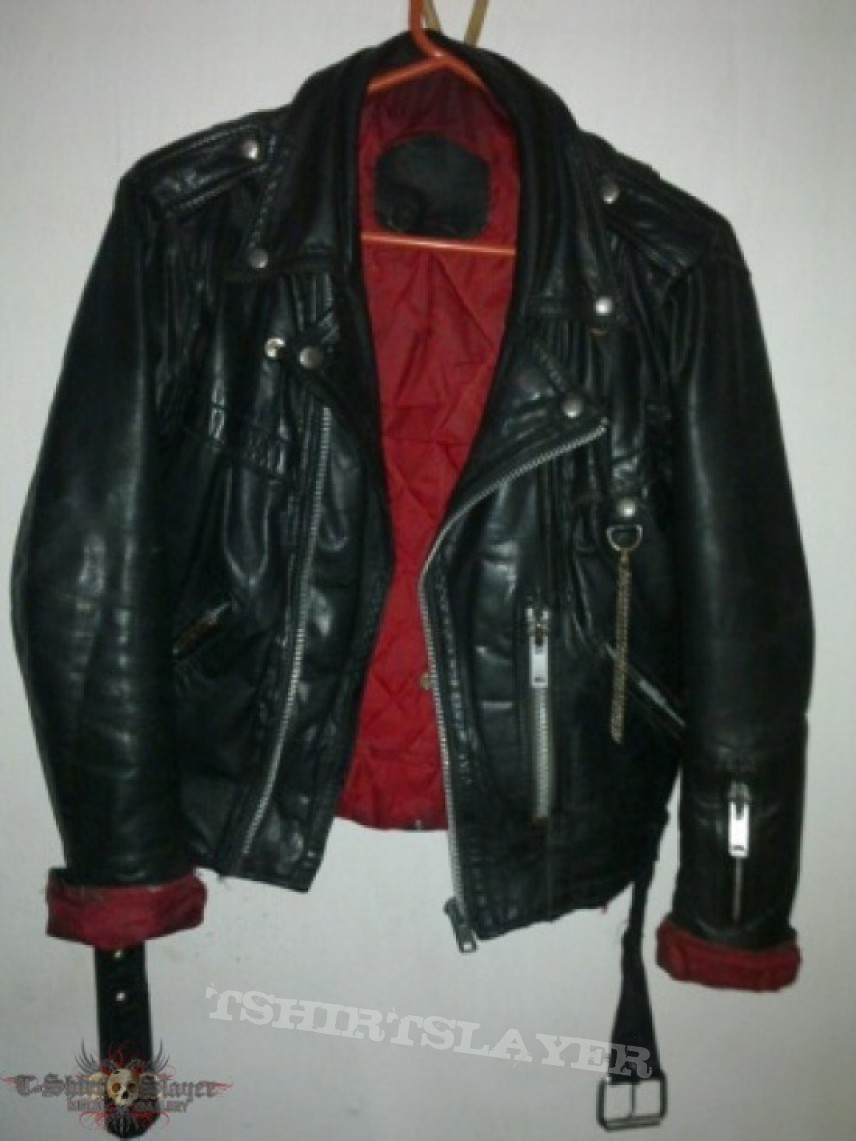 genuine 70s leather jacket