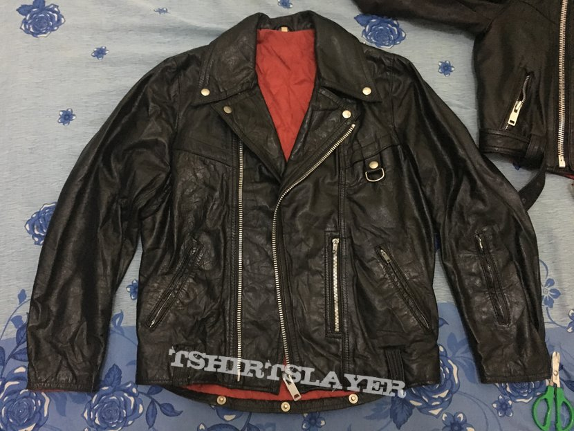 Petroff style leather jacket L